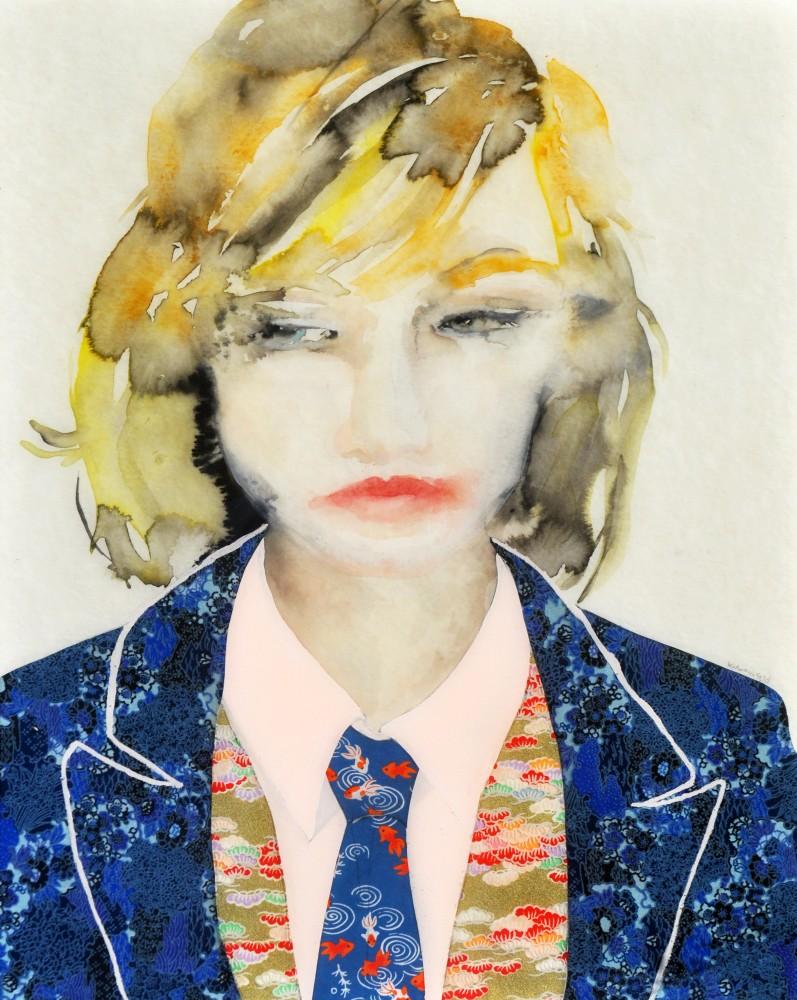 Suit In Blue Lisa Krannichfeld